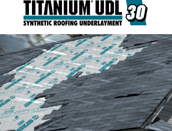 Titanium® UDL25, UDL30, & UDL50 Synthetic Roofing